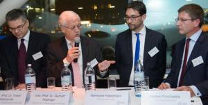 Dieter Kolonovits, Gerhart Holzinger, Hermann Hansmann und Stefan Prochaska