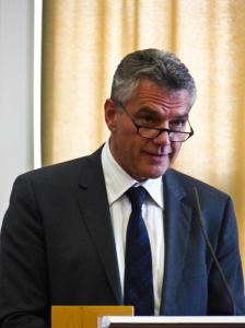 Landesamtsdirektor Dr. Erich Watzl überbrachte Grußworte des Landeshauptmanns